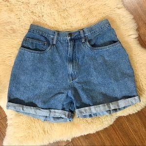 Vintage High Rise Denim Shorts